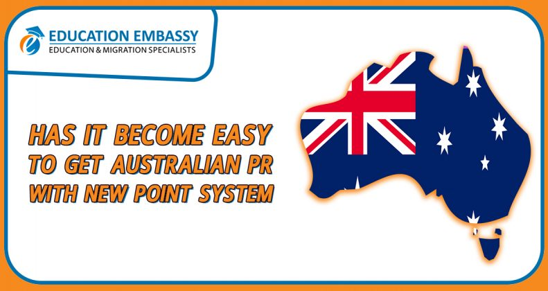 Has it become Easy to Get Australian PR with new Point System