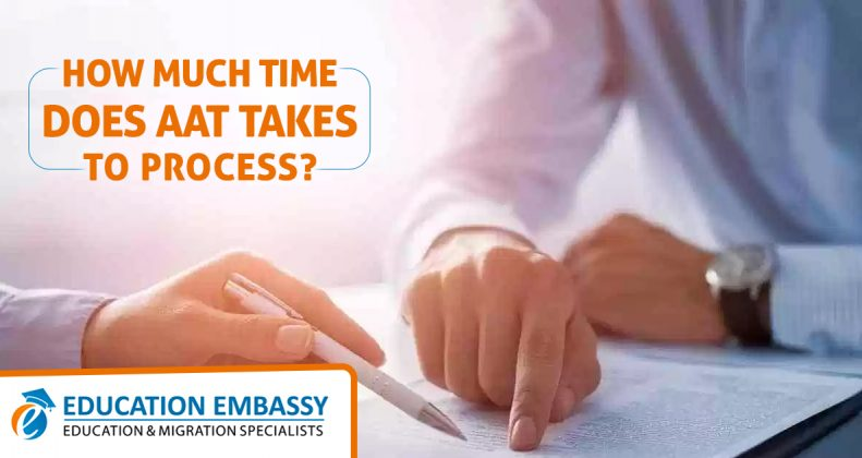 How much time does AAT Takes to Process