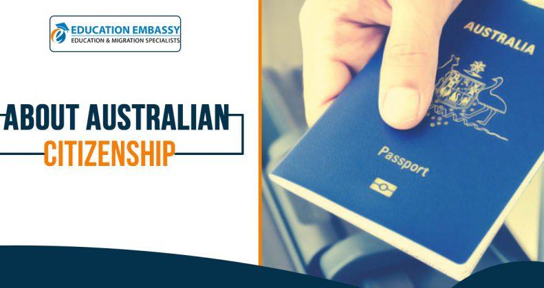 About Australian citizenship