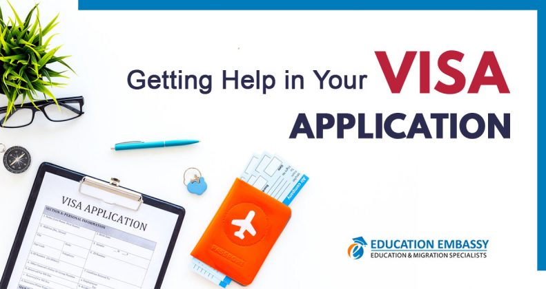 Getting Help In Your Visa Application
