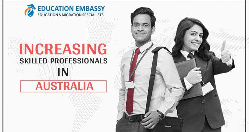 Increasing skilled professionals in Australia