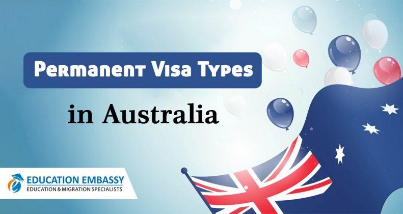Permanent visa types in Australia