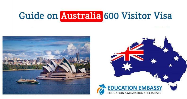 Guide on Australia e600 Visitor Visa