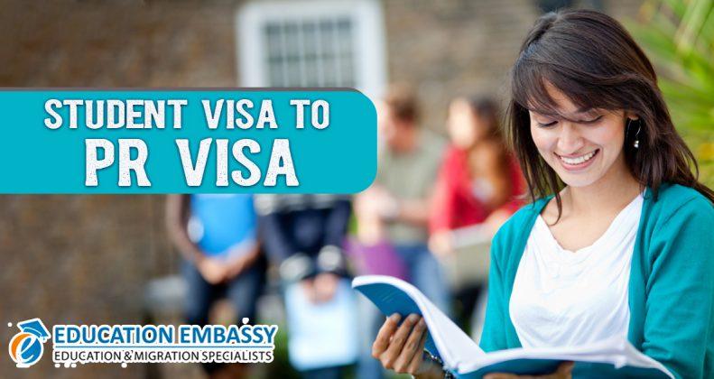 Student visa to PR visa Australia