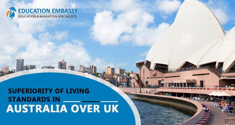 Superiority of Living Standards in Australia Over UK