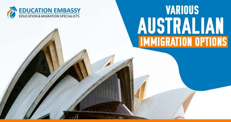 Various Australian Immigration options