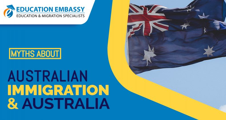 Here, you will learn about certain myths about Australian Immigration and Australia