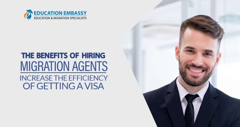 What are the benefits of hiring migration agents to lodge an application
