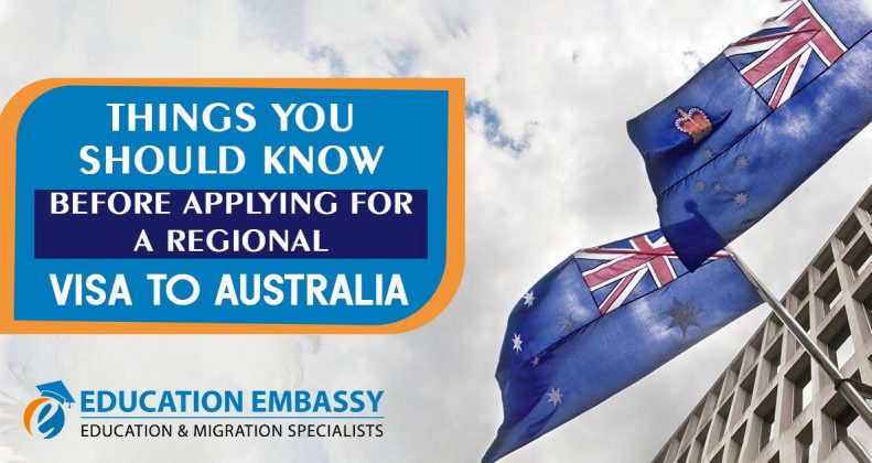 Things you should know before applying for a regional visa to Australia.