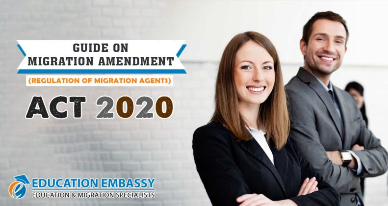 Guide on Migration Amendment (Regulation of Migration Agents) Act 2020