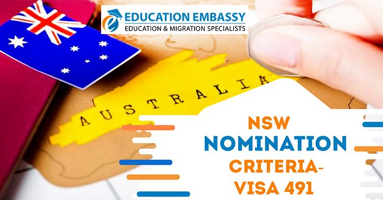 NSW- Skilled Work Regional Visa Subclass 491
