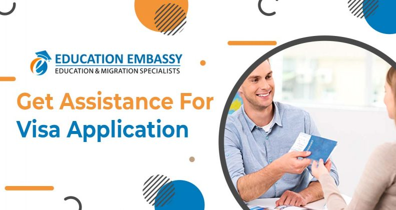 How do you need to take assistance with your Australian visa application